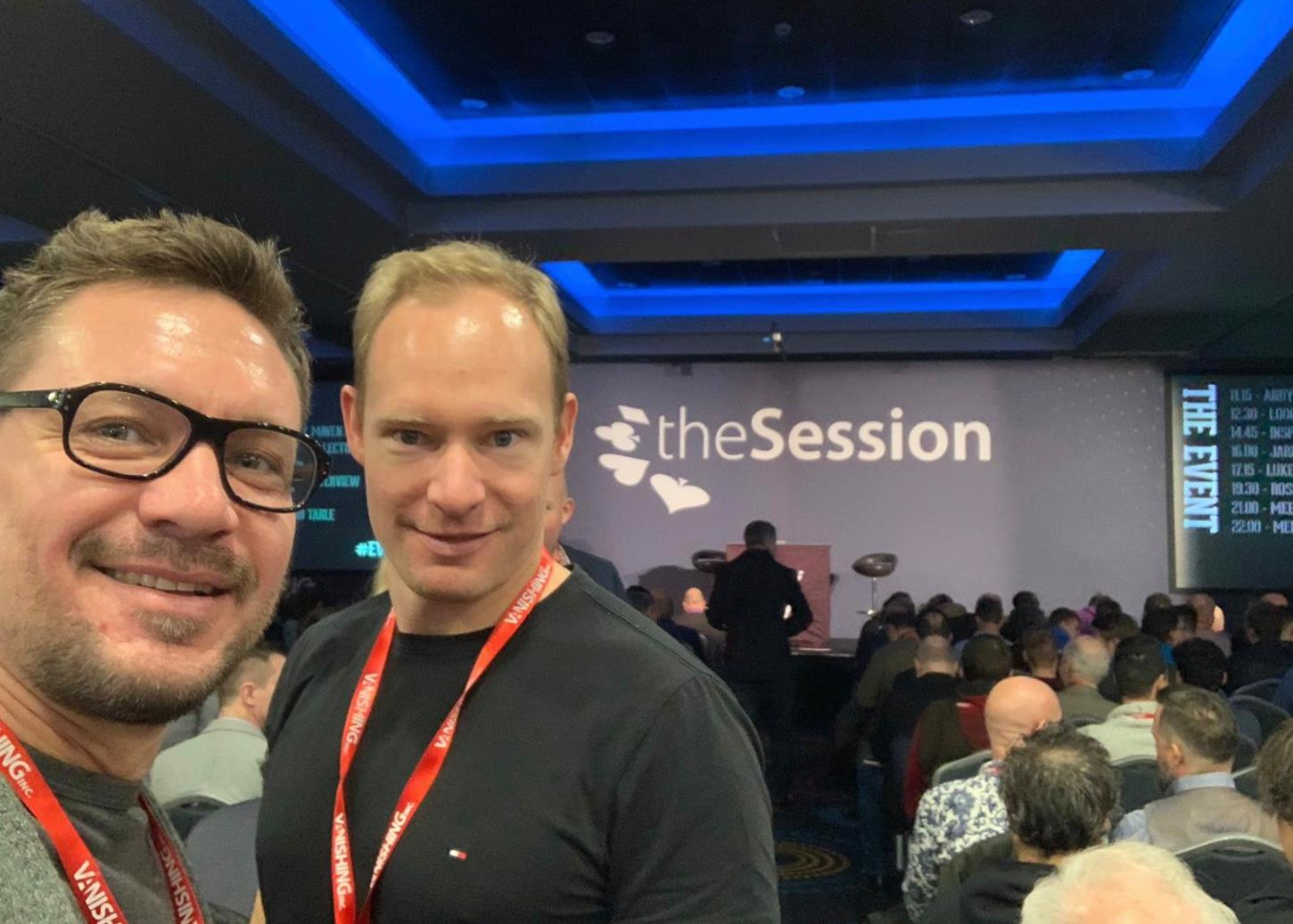 the session in london