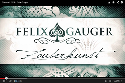 Felix Gauger Showreel 2014